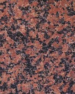 Taivassalon punainen graniitti, Balmoral Red