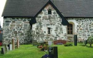 Hautausmaa kirkon ympärillä on kirkkomaa