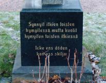Muistolauseet hautakivissä lohduttavat ja ilahduttavat.